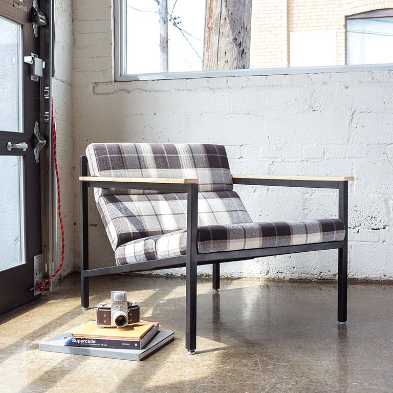 Ghế sofa đơn đọc sách khung thép