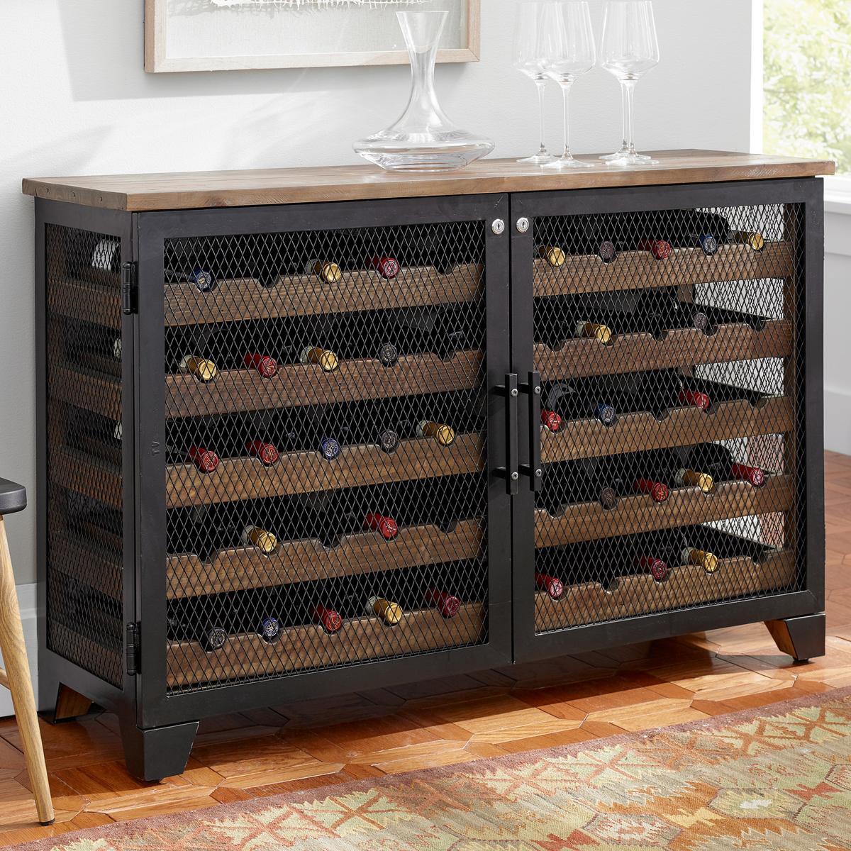 Living Room Wine Cabinet, Wine Rack Ideas Living Room
